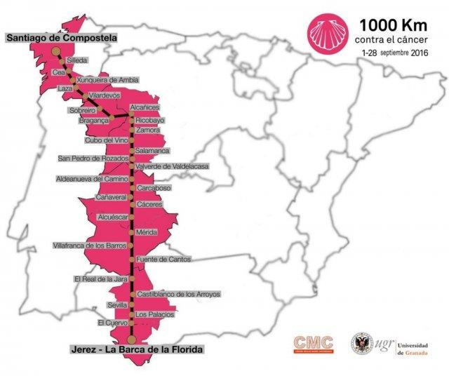 1000-km-contra-el-cáncer-itinerario